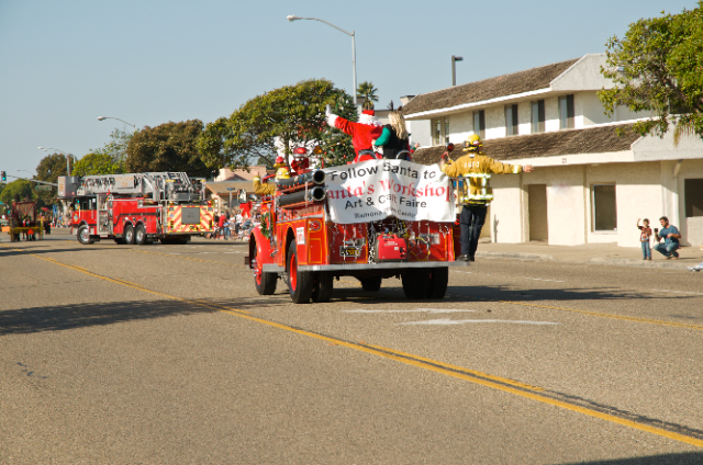 Grover Beach Holiday Parade,
