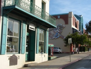 The Ah Louis Store is an icon in SLO's Chinatown, which will be developed by the Copeland family. -- Photo by Daniel Blackburn