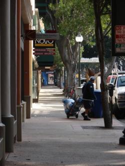 Has downtown San Luis Obispo become the private domain of developer Tom Copeland? It's not unimaginable. -- Photo by Daniel Blackburn