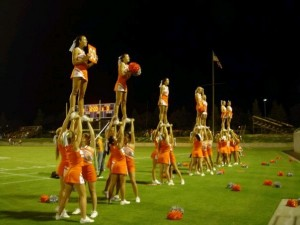 Atascadero cheerleaders