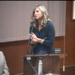 Dee Torres asks the San Luis Obispo City Council to approve more aggressive treatment of the homeless who do not enter case management.