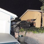 DUI Garage Crash