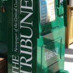 Tribune news stand