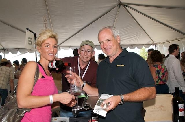 Kim White, Bob Shore and Jay Mays.