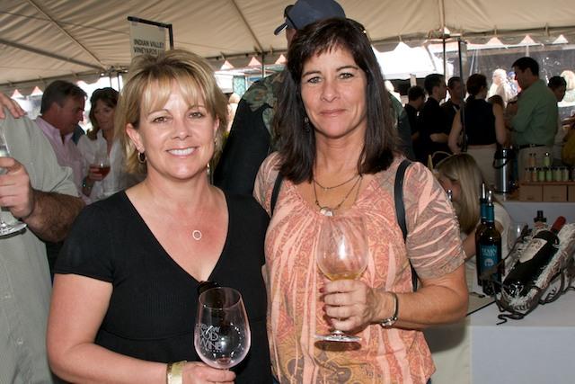 Lorlie Leetham and Eileen Dennis