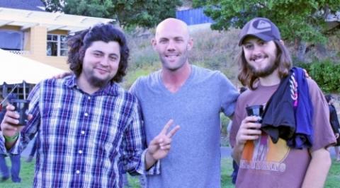 Wesley, Caleb & Pedro