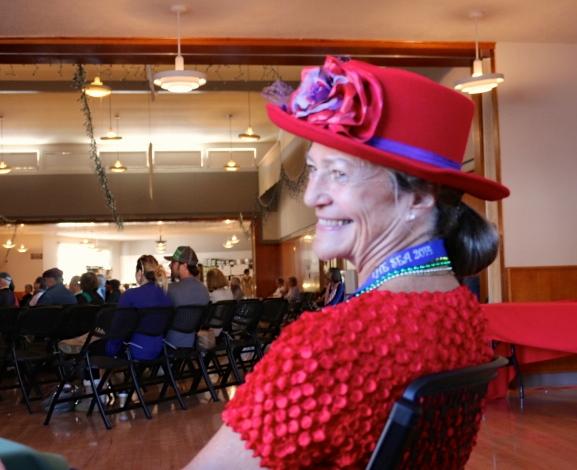 Fancy Red Hat