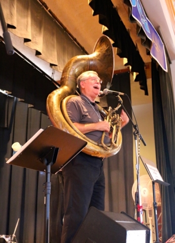 Tuba in the House!