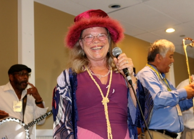 Val Johnson of the Creole Syncapators