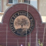 PASO ROBLES BRICK SIGN