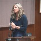 Dee Torres-Hill speaking on behalf of CAPSLO.
