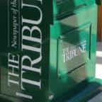 Tribune news stand