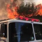 Santa Barbara Highway 101 fire