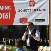 Adam Hill speaking at a groundbreaking ceremony for a PB Companies project.