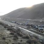 Highway 58 mudflow