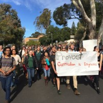 Cal Poly diversity march