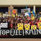 Rail Spur protest