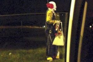 Purported Paso Robles clown