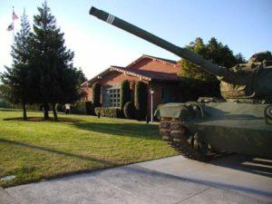 Veterans tank
