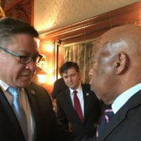 Salud Carbajal and Rep. John Lewis