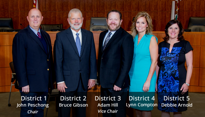 SLO County Board of Supervisors 2017