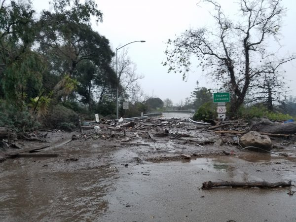 Highway 101 in Santa Barbara County reopened on Sunday