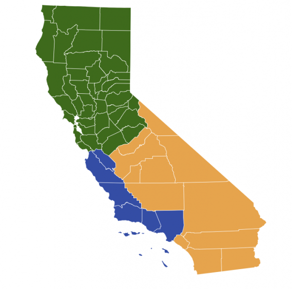 California to vote on splitting into 3 states