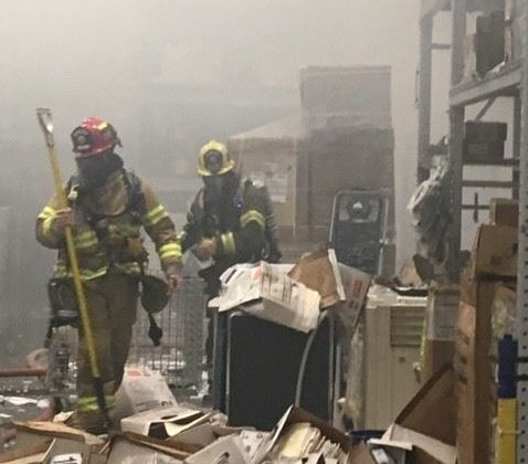 Firefighters quickly extinguish fire at Paso Robles Lowe's